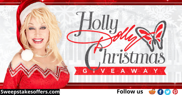 Holly Dolly Christmas Sweepstakes