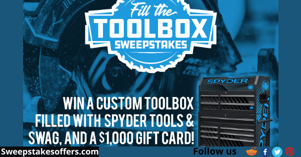 Spyder Fill The Toolbox Sweepstakes