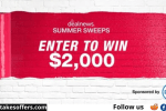 Deal News $2000 Sweepstakes