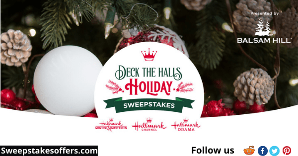Hallmark Channel Deck the Halls Holiday Sweepstakes