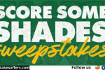 Green Bay Packers Score Some Shades Sweepstakes