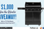 BBQGuys $1K Gas Grill Winter Giveaway