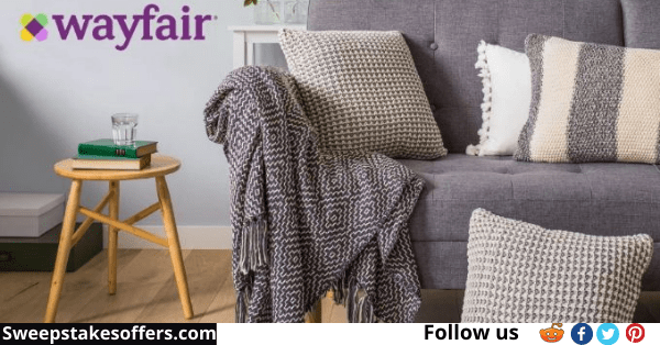 Wayfair $500 Review Sweepstakes