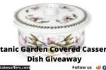 Botanic Garden Covered Casserole Dish Giveaway