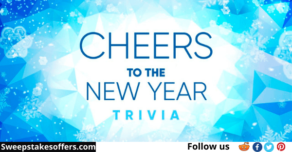 LIVE Cheers To The New Year Trivia Sweepstakes