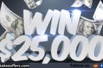PrizeGrab $25000 Cash Giveaway