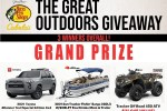 Bass Pro Shop Great Outdoors Sweepstakes
