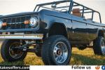 Omaze Ford Bronco Sweepstakes