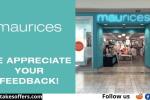 Tell Maurices Customer Satisfaction Survey