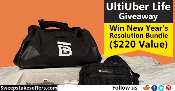 UltiUber Life New Years Resolution Giveaway