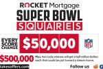 Rocket Mortgage Super Bowl Sweepstakes