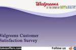 Walgreens Feedback Customer Survey Sweepstakes