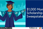 College Ave $1000 Scholarship Sweepstakes