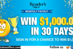 Reader Digest Cash Sweepstakes