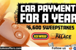 Car Payments for Year Sweepstakes 2021