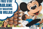 Disney Vacation Club Magic Of OHana Sweepstakes