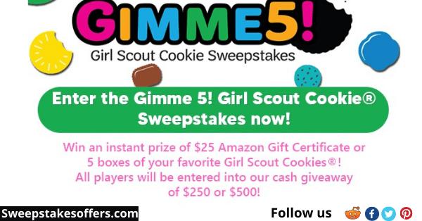 Gimme5Sweeps.com