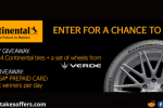 Continental Tire Weekly Winter Sweepstakes
