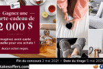 Linen Chest Win a $2000 Shopping Spree Contest