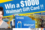 Dirndl Kitchen $1000 Walmart Gift Card Giveaway