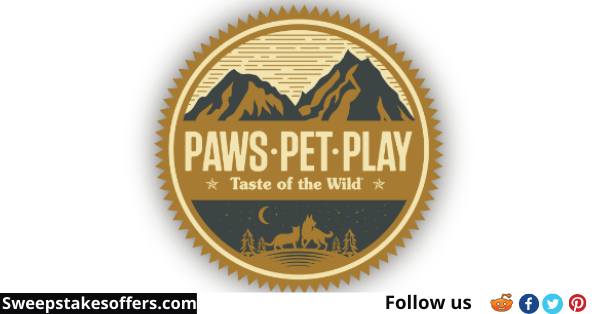 Taste of the Wild Paws Pet Play Sweepstakes