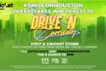 Cricket Wireless Smile On Houston Sweepstakes