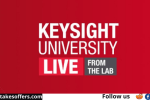 Keysight Technologies University Live Sweepstakes