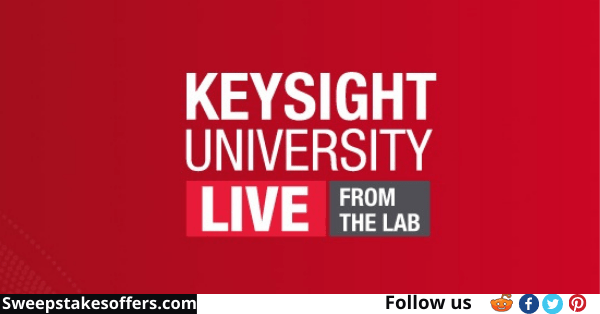 Keysight Technologies University Live Sweepstakes