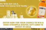 Paddy's Gold Giveaway