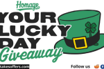 Homage Your Lucky Day Giveaway