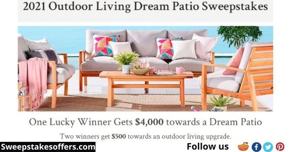 Riverbend Home 2021 Outdoor Living Dream Patio Sweepstakes