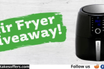 Mission for Nutrition Air Fryer Giveaway