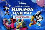 Disney Mickey & Minnie's Runaway Railway Sweepstakes