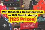 Mitchell & Ness Budweiser Authentic & Genuine Instant Win Game