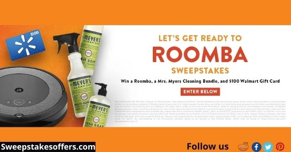 INSP Let's Get Ready to Roomba Sweepstakes