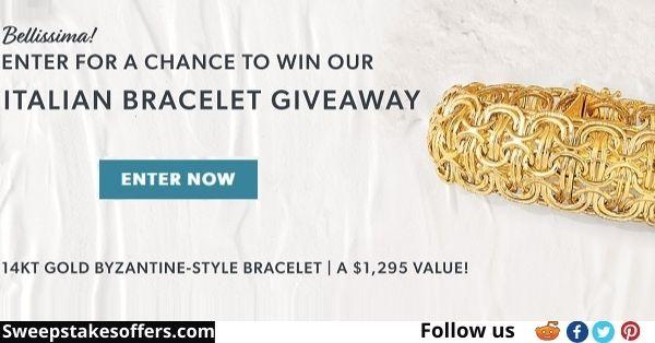 Ross-Simons Italian Bracelet Giveaway
