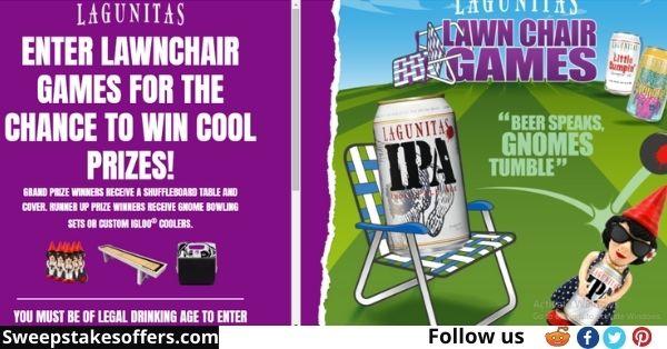 Lagunitas Lawn Chair Games Sweepstakes