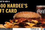 Hardee's Free Gift Card Quikly Giveaway