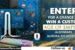 Microsoft Alienware Age of Empires Sweepstakes