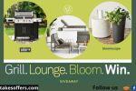 Blu Dot Grill Lounge Bloom Win Sweepstakes