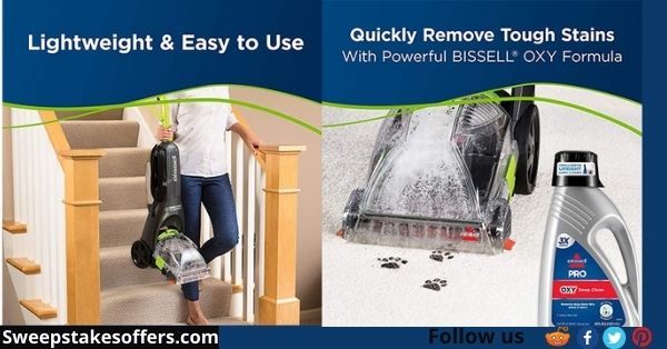 Womans World Bissell Sweepstakes