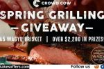 Crowd Cow Spring Grilling Giveaway