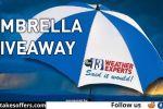 WSAZ May Umbrella Giveaway Contest