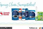 Summit Brands Spring Cleaning Sweepstakes