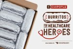 Chipotle Healthcare Heroes Burrito Giveaway