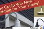 New Lighting For Your Home Giveaway