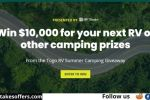 Togo RV Summer Camping Giveaway