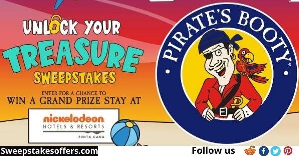 Pirate's Booty Unlock Your Treasure Sweepstakes