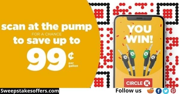 Circle K Scan to Win Fuel Instant Win Game