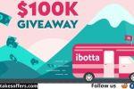 Ibotta $100000 Cash Giveaway